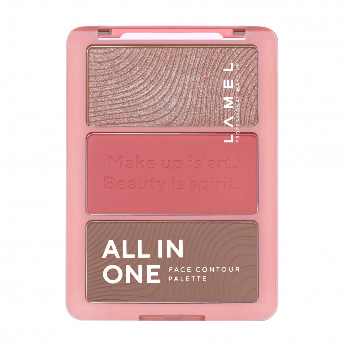 ALL IN ONE face contour palette